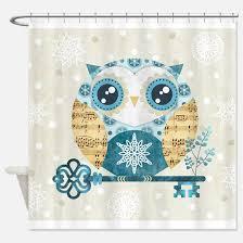 Owl Shower Curtains Hoot Owl Shower Curtains Cafepress