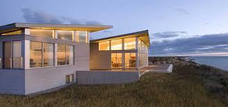 Modern Beach House Modern Beach House On Cape Cod In Truro Ma Sustainable Energy