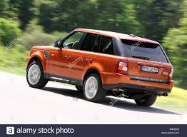 range rover back car range rover sport v8 supercharged model year 2005 orange
