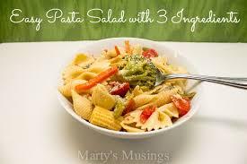 easy pasta recipes quick and easy pasta salad
