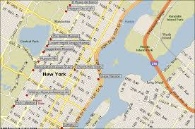 map for new york east side new york city attractions map find the nyc