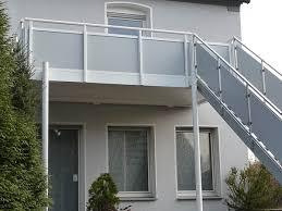 balkon mit treppe anbau und fertig balkone