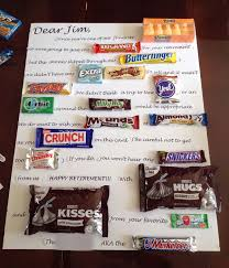 candy bar birthday card candy bar poster ideas with clever sayings