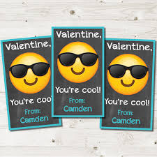 cool valentines cards boy emoji valentines day cards glasses valentines cards cool