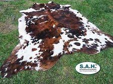Cow Print Rugs Leather Fur U0026 Sheepskin Rugs Ebay