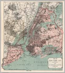 Nyc City Map On This Day In Nyc History January 1st 1898 New York City