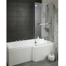 alliance skye 1700mm square l shape bath r h white hover to zoom
