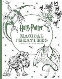 harry potter magical places characters colouring book 3