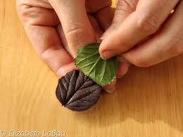 How To Make Decorative Chocolate How To Make Perfect Chocolate Leaves For Decorating Leaves