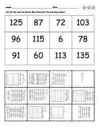 1st grade place value worksheets worksheets