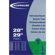 chambre a aire schwalbe av19 chambre à air vélo valve schrader 650 27 5 à 29 pouces