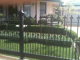 front yard garden fence front yard fencing landscape contemporary