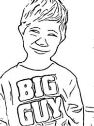 turn a picture into a coloring page turn your childs photo into a