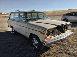 wyoming roadside find 1979 jeep wagoneer