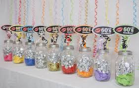 70th birthday decoration available in 9 colors 70th candy