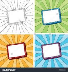 doodle edit doodle frame sunbeam radial background easy stock vector 86508499