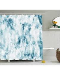 shower curtain grunge marble effect print for bathroom