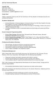 Sample Resume For Qtp Automation Testing by Sample Resume Qtp Automation Test Engineer Functional Resume Canada