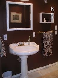 exclusive chocolate brown bathroom ideas best 25 paint on
