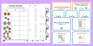 fractions of amounts find fractions resources teaching