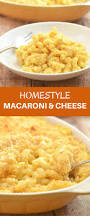 homestyle macaroni and cheese onion rings u0026 things