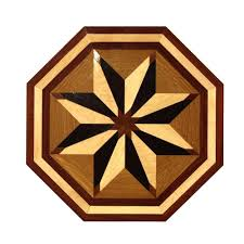 wood inlays medallions wood flooring the home depot