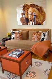 blue and orange sofa design ideas