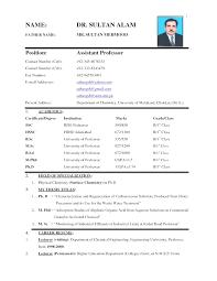 good resume format pdf top cv resume sle pdf best curriculum vitae format exle of a