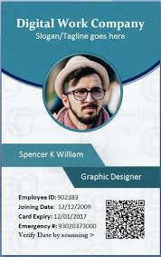 template undangan lop employee id card template microsoft word forget pinterest