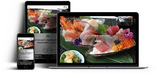 web cuisine food web design