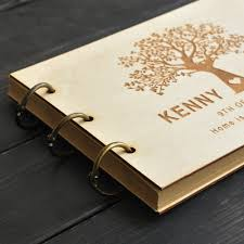 wedding guest book photo album custom wedding tree guest book wedding guestbook album