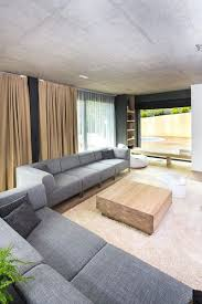 Modern House Living Room Architecture And Interior Design Of The Three Story Building In