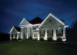 Wired Landscape Lighting Great Landscape Lighting Design New Home Design Landscape