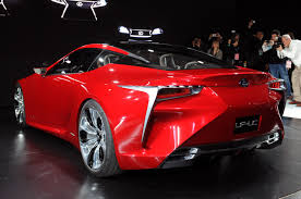lexus concept coupe the lexus lc has been spotted testing will the new supra have any