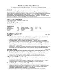 Resume Profile Template Download Pilot Resume Template Haadyaooverbayresort Com