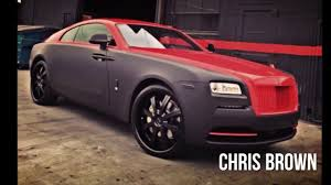 drake rolls royce amazing luxury car collection chris brown and drake celebrity