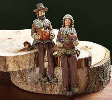 thanksgiving pilgrim statues thanksgiving pilgrims ebay