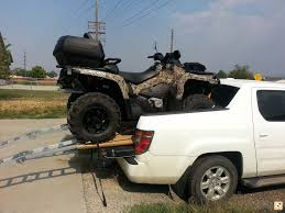 hauling 2014 outlander xt in my truck bed page 2 can am atv forum