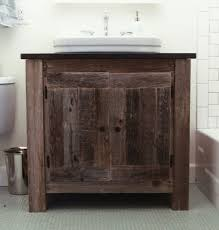 Reclaimed Wood Bathroom Astounding Design Of Reclaimed Wood Bathroom Vanity With Self