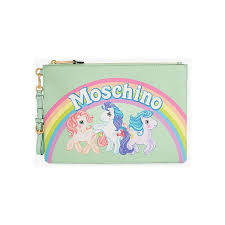 my pony purse moschino my pony clutch 360 liked on polyvore featuring