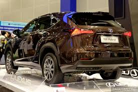 lexus brown lexus nx 300h on display at igem 2014 in klcc image 280978