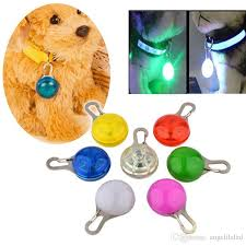 flashing night light bulbs online cheap dog glowing necklace led safety cat night light