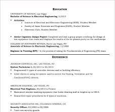 hvac resume template 10 hvac resume templates free sles exles format