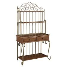 Contemporary Bakers Rack Creative Of Small Bakers Rack With Drawers 64 Best Bakers Rack