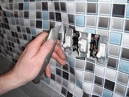wallpaper for kitchen backsplash sheet vinyl faux glass tile dali decals faux tile backsplash