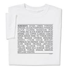 white t shirt halloween costumes show u0027em what you u0027re made of with human ingredients t shirt
