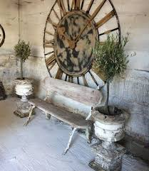 Giant Wall Clock How To Use Oversized Wall Clocks In An Outdoor Area