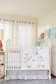Pom Pom Crib Bedding by Baby Owls Crib Bedding Set