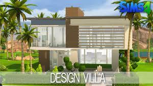 design villa the sims house building design villa speed build youtube idolza