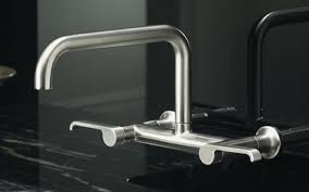 wall mounted kitchen faucet wall mount kitchen faucet luxury choose the best wall mount